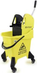 BENTLEY HR/MB.31/Y  Kentucky Mop Bucket 31L Yellow
